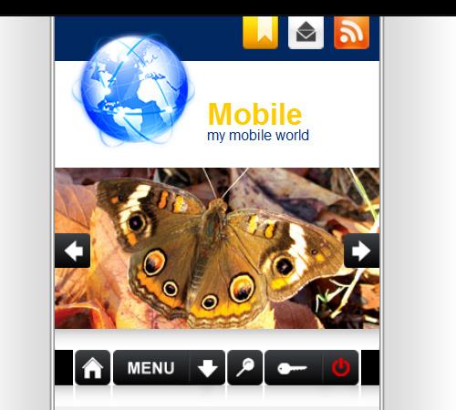iworld mobile wp theme