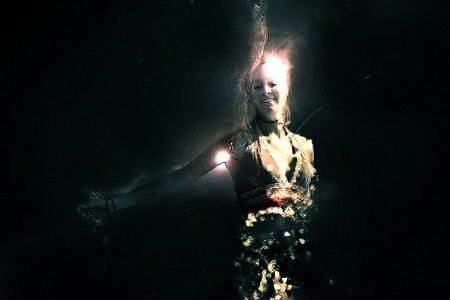 Crystallized Water Girl