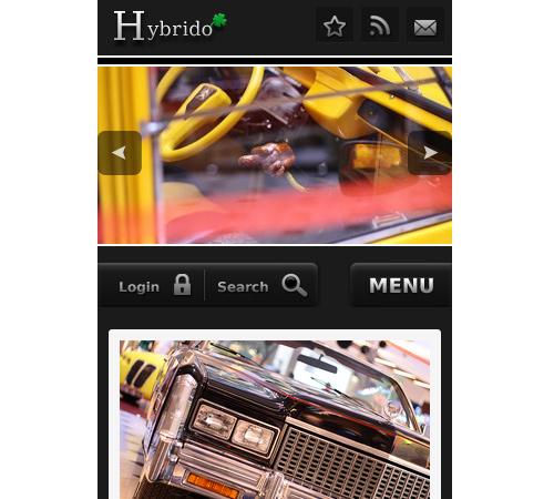 hybrido wordpress theme