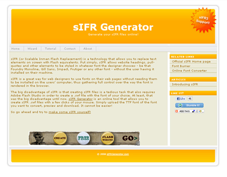 sifr generator