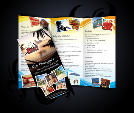 beck's resort trifold