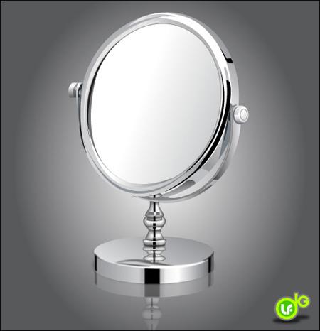 Draw a Shiny Make-Up Mirror with Adobe Illustrator
