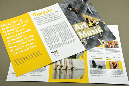 WellDesigned TriFold Brochures  BlueblotsCom