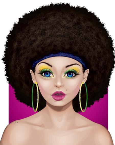 How to Create a Glamorous Portrait Using Adobe Illustrator