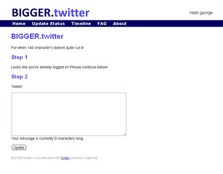 Bigger Twitter
