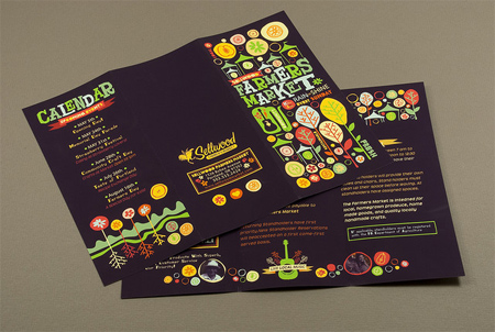 30 well designed tri fold brochures