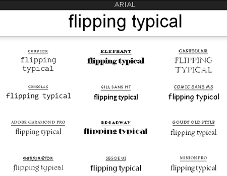 Flipping Typical