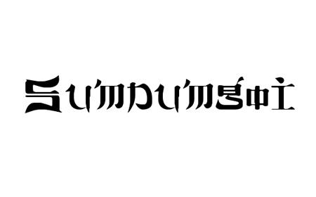 sumdumgoi font