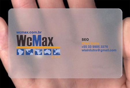 WCmax group Business Card