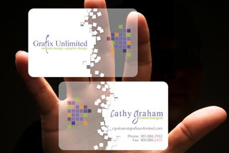 Grafix Unlimited Plastic Business Cards