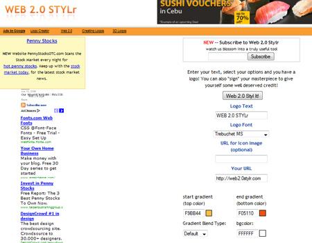 Web 2.0 Stylr