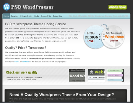 PSD WordPresser