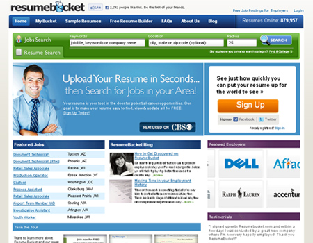 great websites to help you make a resume