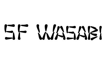 SF Wasabi font