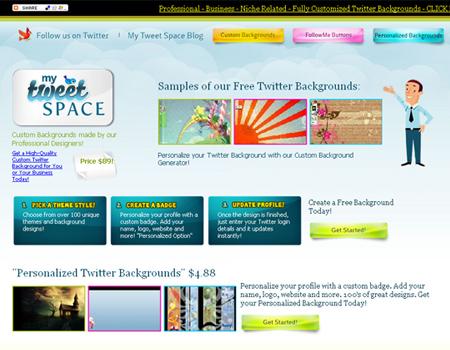 My Tweet Space