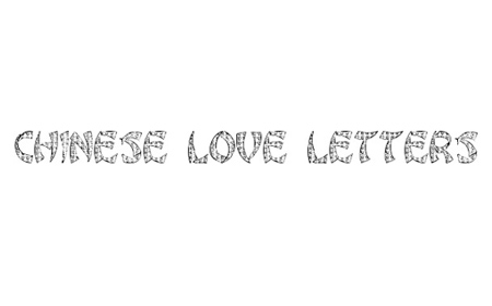 Chinese Love Letters font