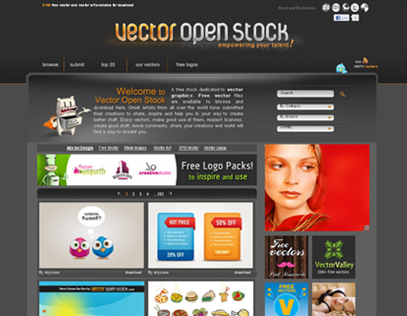 Vector Open Stock