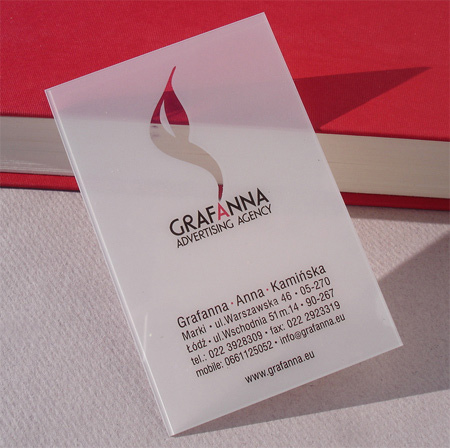 25 Transparent Business Card