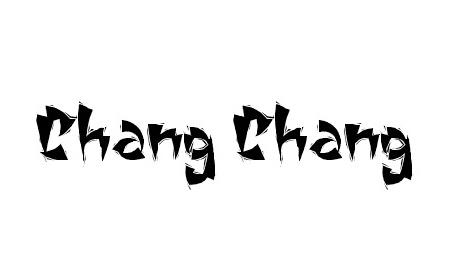 Chang Chang font