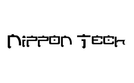 Nippon Tech font