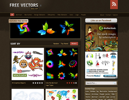Free Vectors Daily