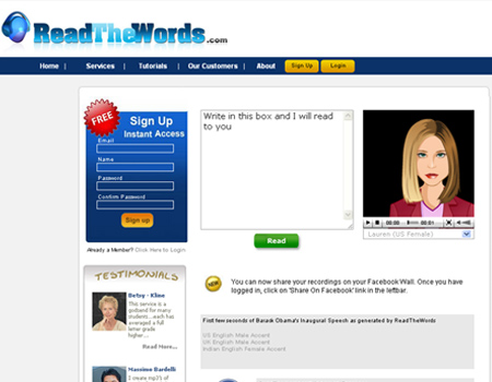 readthewords.com