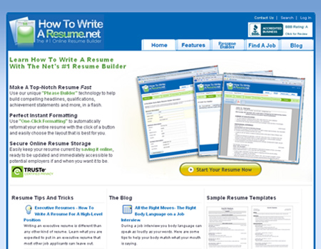 How To Write A Resume.net