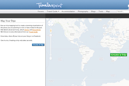 Useful Free Tools For Creating A Map Online Blueblotscom - Create your own travel map