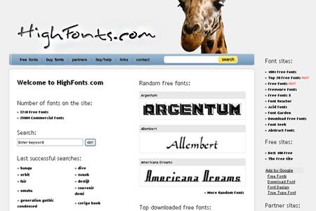 highfonts.com