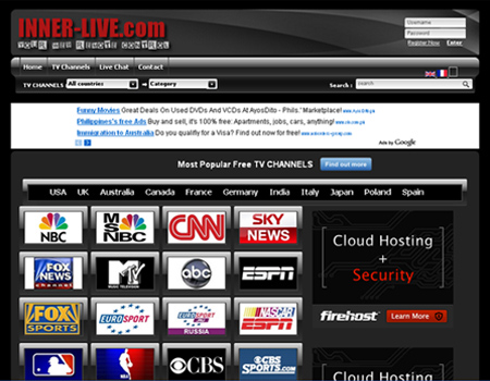 Live TV Channels - Watch TV Online for Free