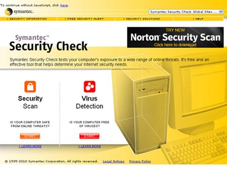 Symantec Security Check