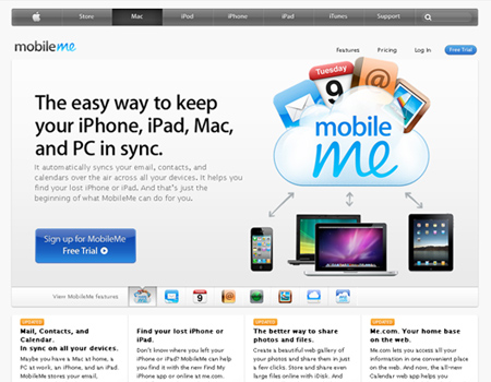Apple MobileMe iDisk