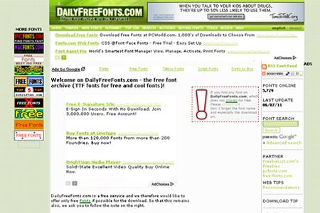 dailyfreefonts.com