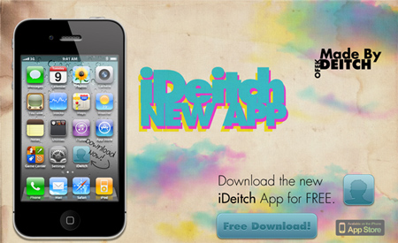 How To Create A Grungy iPhone Application Advertisement in Photoshop