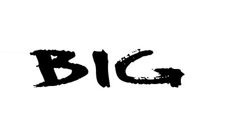 BIG font