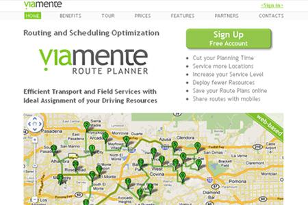 Viamente Route Planner