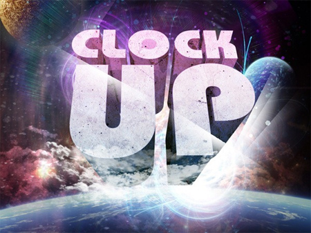 "Create a ""Clock Up"" Wallpaper in Photoshop"