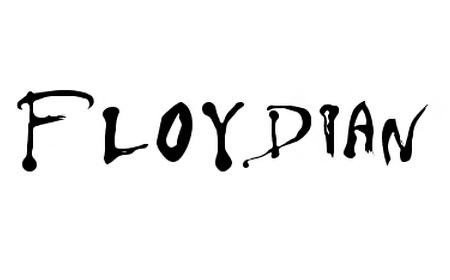 Floydian font