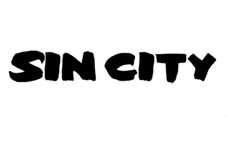 Sin City font