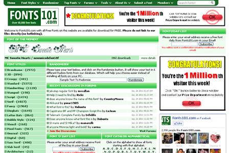 fonts101.com