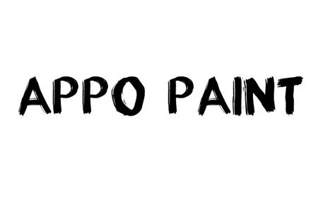 appo paint font