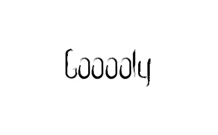 gooooly font