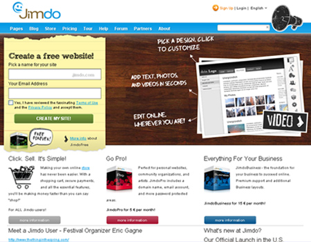 how to create a free web hosting site online
