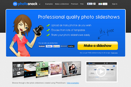 Online Picture Slideshow Video Maker