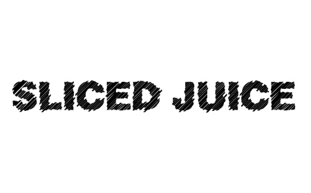 Sliced Juice font