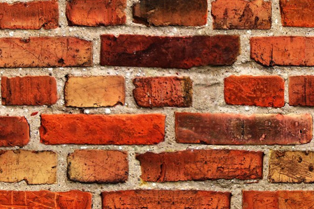 the very flat brick wall