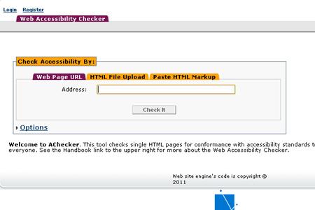 AChecker - Web Accessibility Checker