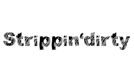Strippin'dirty font