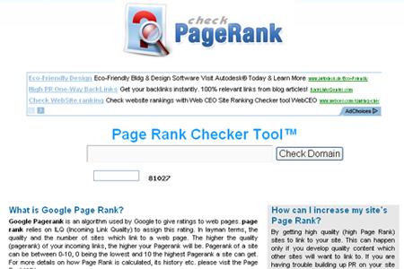 Check-Page-Rank.com