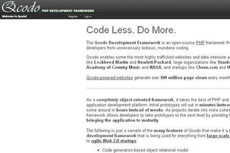 qcodo php development framework